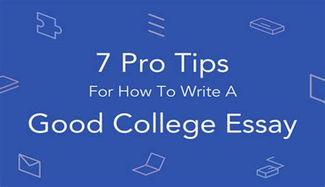 On writing college application essay
